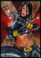 X-23 Colors by henflay
