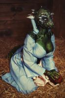 The Lusty Argonian Maid Cosplay by elenasamko