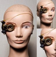 Steampunk Monocle by LipCreativeStudio