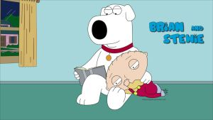 Brian and Stewie by TheBurningRed