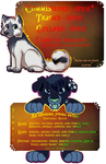 Fall Info Badges by Wonderlandawaitsus