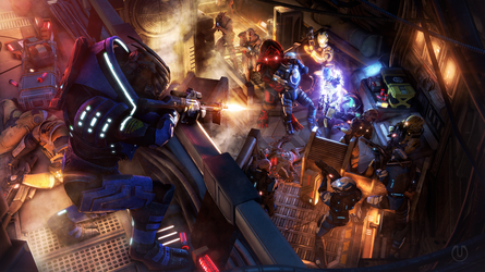 Scoped and Dropped   Mass Effect by Urbanator