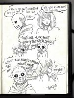 Frans comic (page 1)- Inktober day 1 by AppleBets
