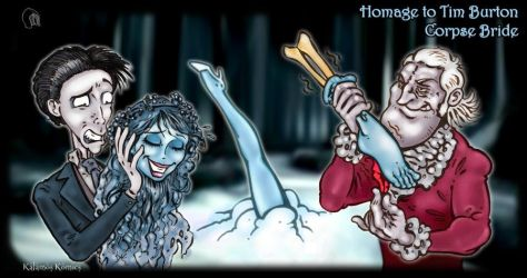 Tickling Tribute - the Corpse Bride by Kalamos