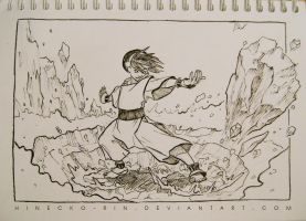 286/366 - Inktober day 8 by Hinecko-Rin