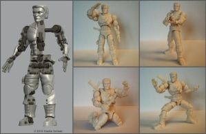 Construction 3D printed 'action figure' by hauke3000