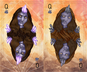 Crystal Queen Comparison by Qu-Ross