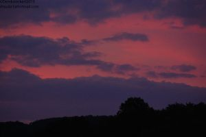 Sunset Over Minersville,pa 1 of 3 by Hero-Ritsuka