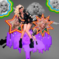 Vomito De Arcoiris Y Gaga by Galaxy-Love