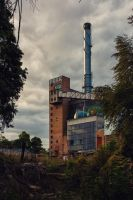 1224, old AMCOR papermill. by thespook