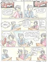 Phoenix Wright Comic 1 by AzureDragon4