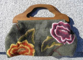 Flowery Bag by SleyTheDent