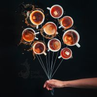 Coffee Balloons by dinabelenko