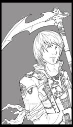 Ean - Uncolored by eychanchan