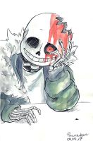 Horrortale Sans by paurachan