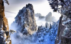 Winter Snow Mountains 5 by WictimCZ