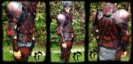 Blood Stag Leather armor by Feral-Workshop