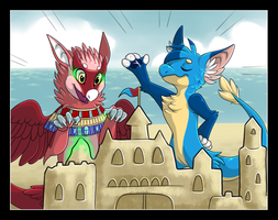 Sandcastle Kings (Collab with Nestly) by Ascynd
