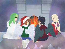 Christmas Around the Fire [Secret Santa] by Zmithic