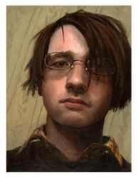 Small Self-Portrait by ARoulette
