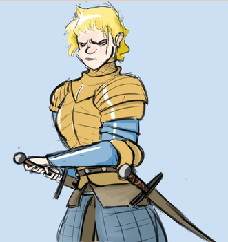 Brienne of Tarth Sketch by Shippmeh