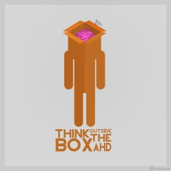 Think outside the box by AHDesigner