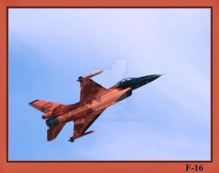 F-16 by painting-with-light