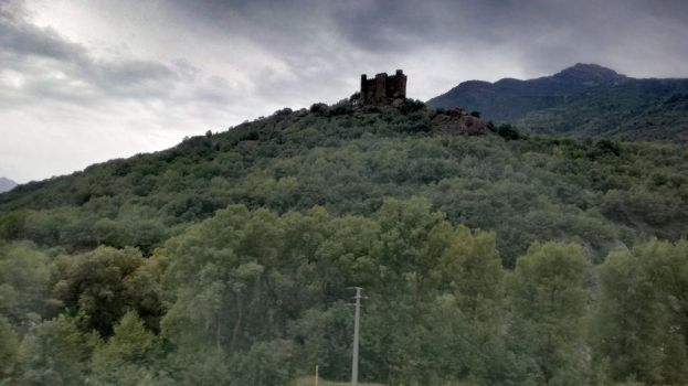 Watchtower in north Italy by lu989