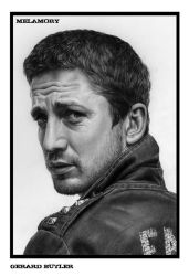 Gerard Butler by FairyARTos