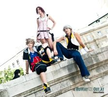 Sora - Chilling Destiny Island Gang by SoraPaopu