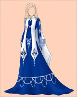 [Closed] Auction medieval dress Outfit Adopt by YuiChi-tyan
