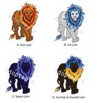 Lion Adoptables- Paypal Only by Duchess-of-Dismal
