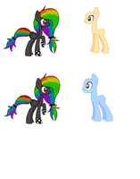 Rainbow Rocker Breedable (Closed for now!!) by AnguineAffinity