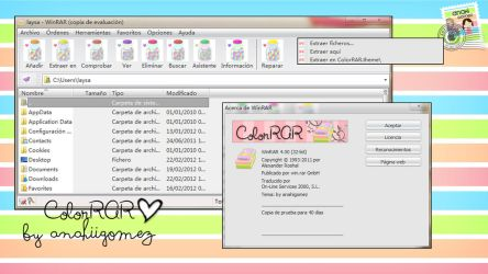 Theme ColorRAR by me by AnahiiGomez