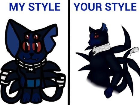 My Style, Your Style Meme with BlueAngelPower2003 by EviRegecht