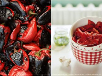 roasted peppers by pitrih