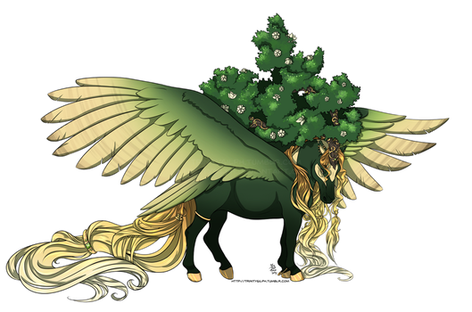 Design Commission - Thesmia by TrinitySilph