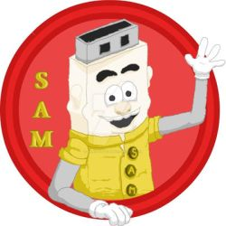 S.A.M logo by Chris-Eaton