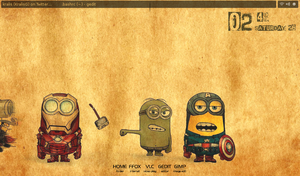 Minion Avengers by kralis-dm