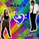 ALL CAPS cover version 2 by maryhappyface