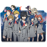 Darling in the FranXX - Icon Folder by Kazutto