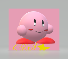 Kirby 3D Art by 2KULProductions