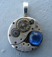 Mechanial PACMAN Pendant by Create-A-Pendant