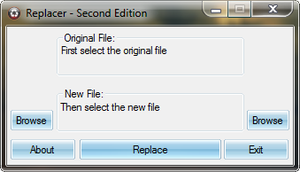 System File Replacer by xuliikoo