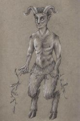 I Can't Stop Thinking About Fauns by Sivia