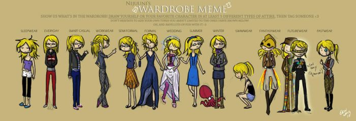 Wardrobe Meme by mapend
