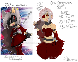 // Old Character Adopt //AUCTION// SOLD // by Mangaomi