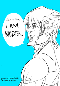 MGS: I am Raiden by hk-ink
