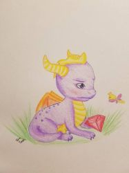 Spyro baby reignited by ShiroToraTenshi