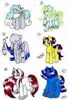 Pony Adopts [closed] by Manya-Pan